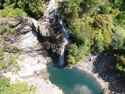 奈良県上北山村・不動滝